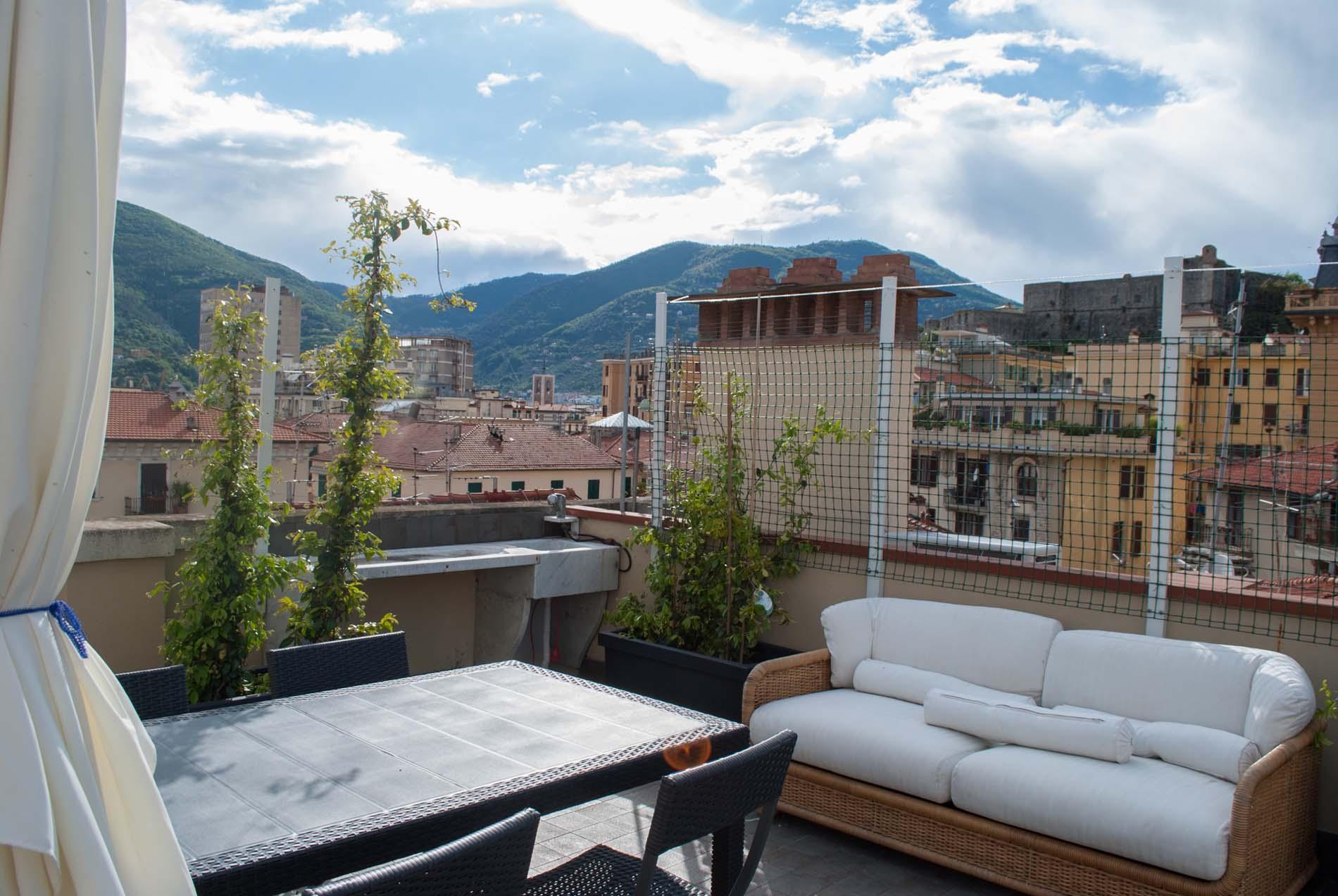 La Terrazza - Accomodation, guesthouse, B&B La Spezia